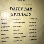 Two for one drink specials every day!