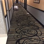 Trash always in the hallway