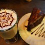 chocolate cake and the best coffee around!!