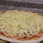 100% mozzarella en todas nuestras pizzas