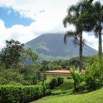 Arenal Volcano from Arenal Volcano Inn