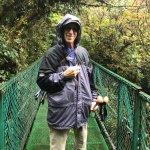 Bill on Monteverde Cloudforest Sky Bridges