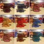 collection of elephant coffee mugs