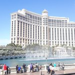Bellagio Fountains during the day