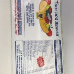 Hot Dog Heaven menu