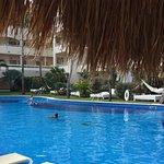 Handicap heated pool