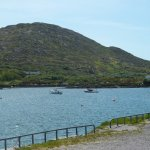 Ring of Kerry: local harbor area