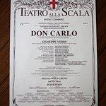 Saw a dress rehearsal of Verdi's Don Carlo on the tour