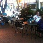 Enjoy sidewalk cafe dining !!!