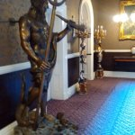 Statue of Neptune in the corridoor