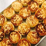 House made Sourdough English Muffins