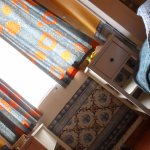 Our room - cosy and colourful.
