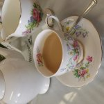 Lovely lunch. Pot of tea and house special sandwich. Mmmmmmm