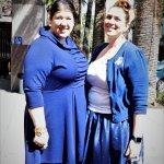 Lynn Restelli and Rebecca Majoros