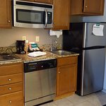 Homewood Suites Hilton Savannah ..kitchen area