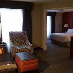 Living room Homewood Suites Hilton Savannah