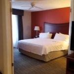 Bedroom Homewood Suites Hilton Savannah