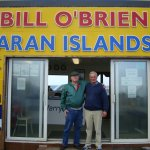 himself and me cousin Bill the proprietor of the first and best ferry service to the Aran Island