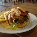 The Famous Eureka Bubba Burger created by Chef James Monroe