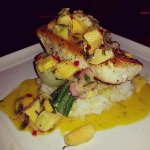 Sea Bass Special with Pineapple Relish