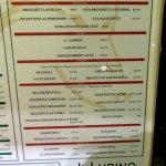 display lunch menu