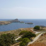view of Lindos bay