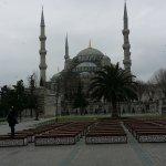 Mosquée bleu a 5 min a pied de l'hotel