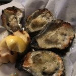Charbroiled oysters. Amazing!
