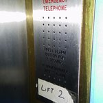 emergency lift phone that does not work