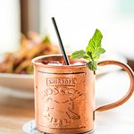 Ginger infused Moscow mule