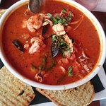 Cioppino - fish stew