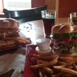 Bar. Burgers and drinks