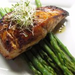 Spicy Honey Glazed Salmon
