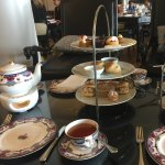 High tea...$196 (including tax) for two adults, one child