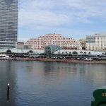 View from our window of Darling Harbour.