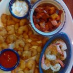 Shrimp platter (3 kinds of shrimp)