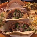 Fresh taste with an unique atmosphere. I had the Street Taco dinner...excellent fresh taste in a