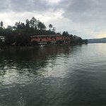 Enjoying lake toba view, what a quiet and natural place. I love it