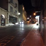 Main Street in Mellehia at night