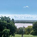 Vista hacia el río, desde la habitación