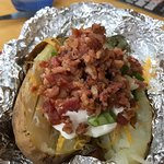 Baked Potato and Bacon