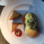 Eggs Benedict on smoked salmon