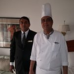 The In Room Dining an extravaganza...with Divine food maker Chef Devinder kumar