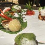 a vegetarian would never regret this platter! superb!