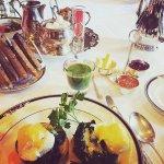 Hayfield Manor Breakfast...