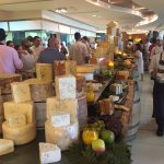 Amazing cheese selection.