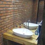 Newly remodelled Men's Bathroom