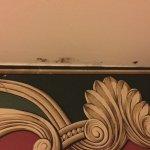 Mold around shower stall