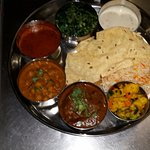 "Special Mount Everest Combo - A  famous Nepali "" Dal, Bhat and Tarkari"" - a complete meal"