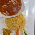 Rice with Lamb or Goat Curry